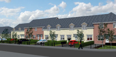 Artists impression of the homes on Beechley Drive